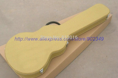 Electric Guitar Yellow Hardcase Not Sell Separately ,Sale With Guitar Together!