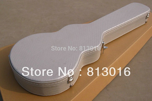 Electric Guitar Silver  Hardcase Not Sell Separately ,Sale With Guitar Together!