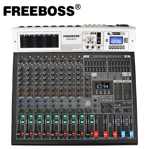 Freeboss ADM-GBA10 10 Channel 48V Phantom Power
