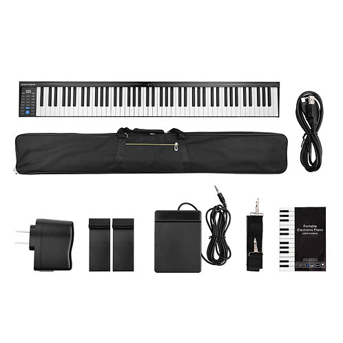 PH88 88 Keys Digital Electronic Piano Keyboard MIDI Output