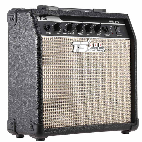GM-215 Professional 15W Electric Guitar Amplifier Amp Distortion