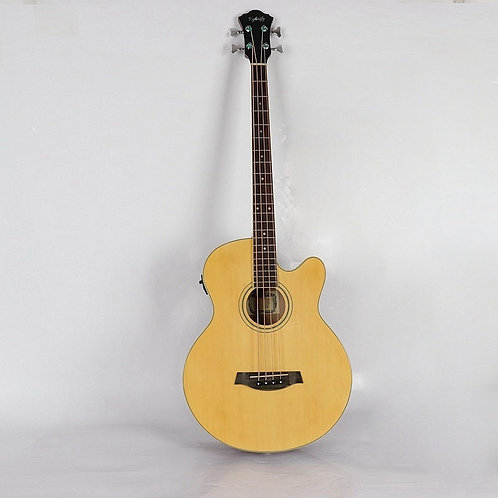 Good Quality  High Gloss 4 String Electric Acoustic Bass