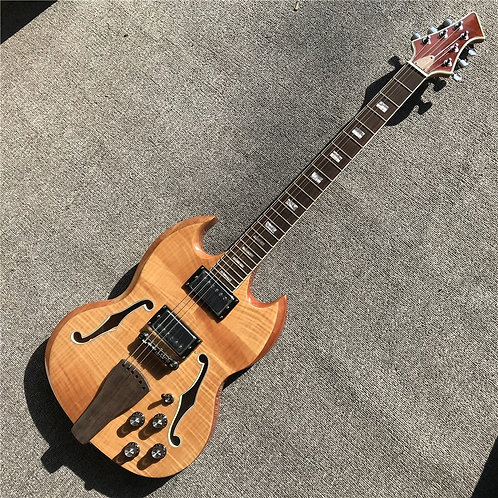 Factory Custom Wood Color 6 String Electric Guitar
