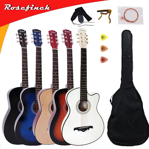41/38 Inch Acoustic Guitar for Beginners