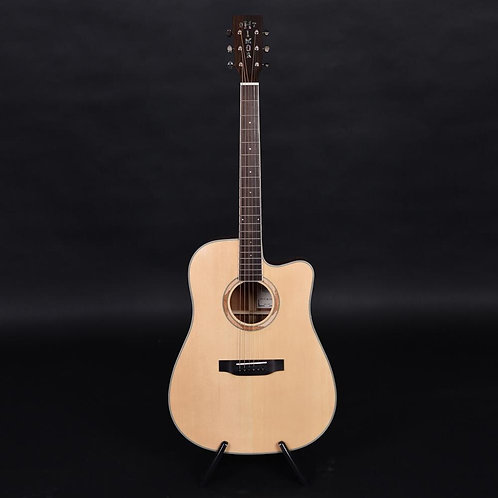 Himor Brand HM710SC  Acoustic Guitars, Guitar Acoustic