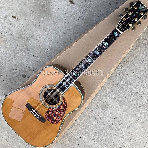 Factory Custom 41-Inch Acoustic Guitar, Solid Red Cedar Top