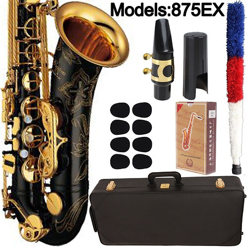 Japan Tenor Saxophone 875EX Black Lacquer With Case