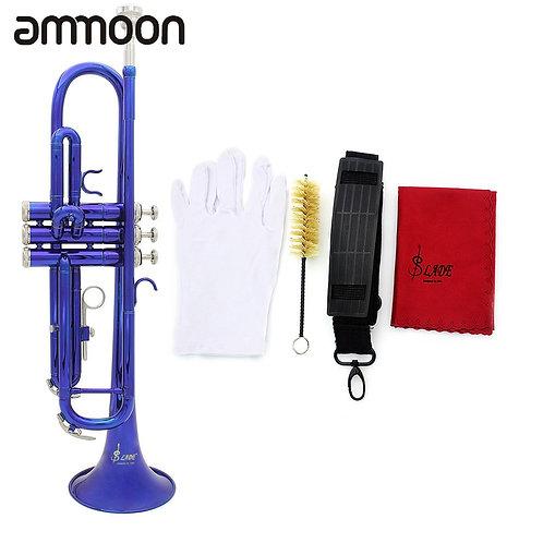 High Quality Bb B Flat Trumpet Exquisite Brass