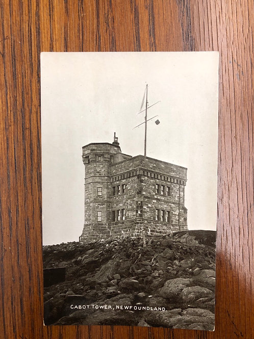 St. John's , NFLD - Cabot tower