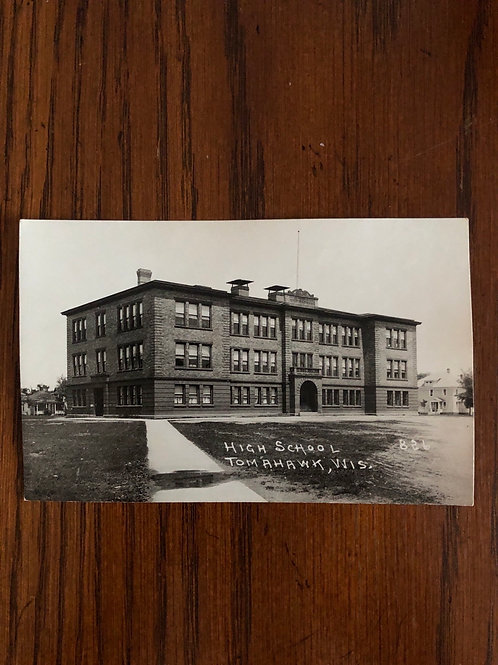 Tomahawk ,Wisconsin - high school