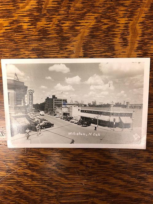Williston, North Dakota - Downtown 1952