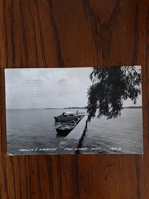 Fox Lake Wisconsin - Kelln's kabin's dock