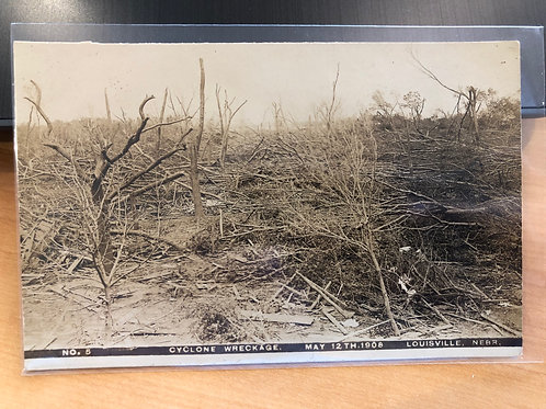 Louisville,Nebraska 1908 Cyclone damage