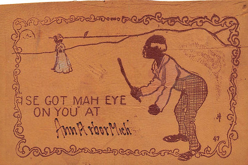 I sure got my eye on you