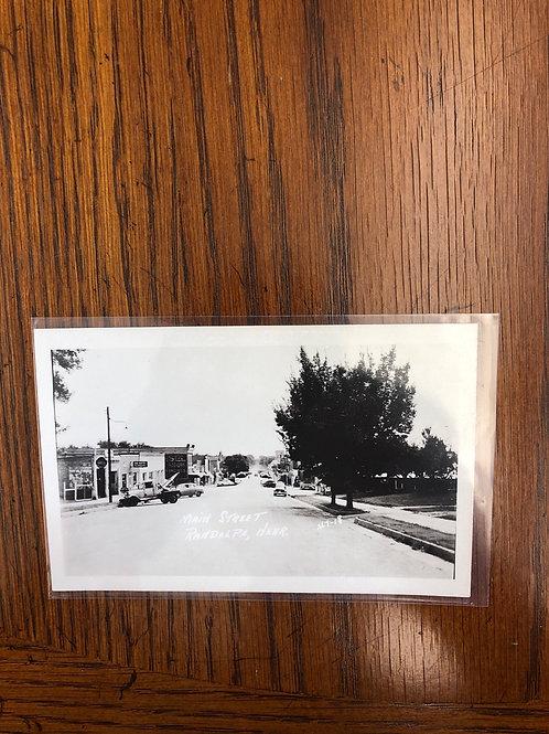 Randolph, Nebraska - Main Street