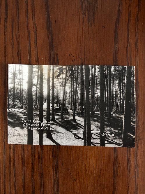 Tomahawk, Wisconsin - Bradley park campground -