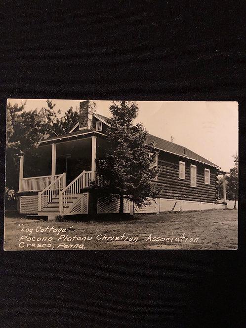 Crasco Pennsylvania - Log cottage PPCA 1954
