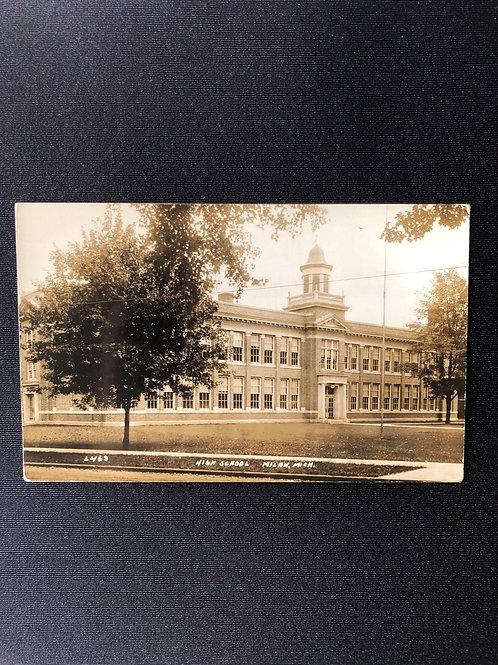 Milan high school , Michigan 1932