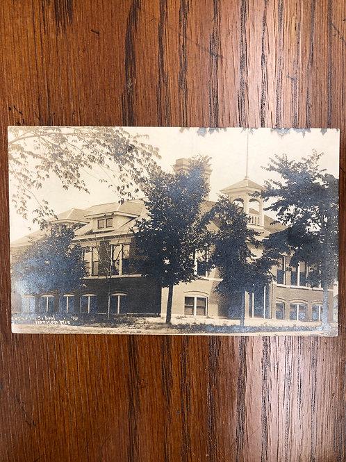 Hoticon , Wisconsin - Lutheran school 1914