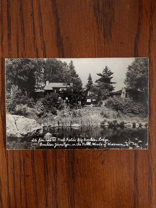 Boulder Junction Wisconsin- Herbs fields lodge