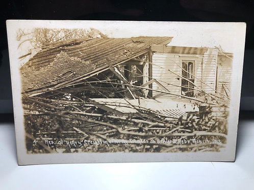 Seward - Henry Creighton Home after tornado of 1913