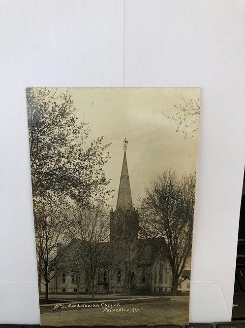 Princeton, Illinois - S.W.Lutheran church