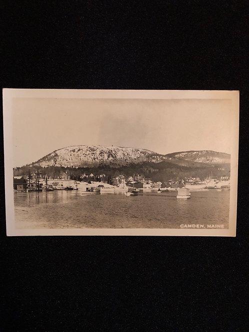 Camden, Maine - Harbor & Mountain views