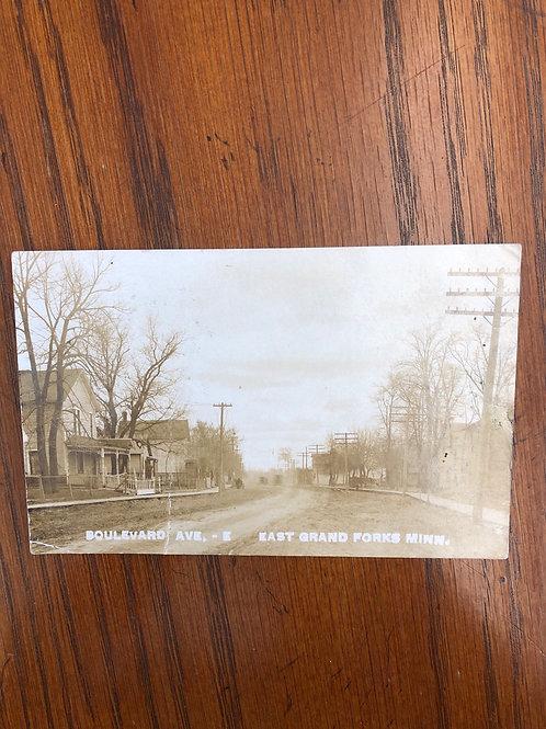 East grand forks , Minnesota - Boulevard ave. E 1908