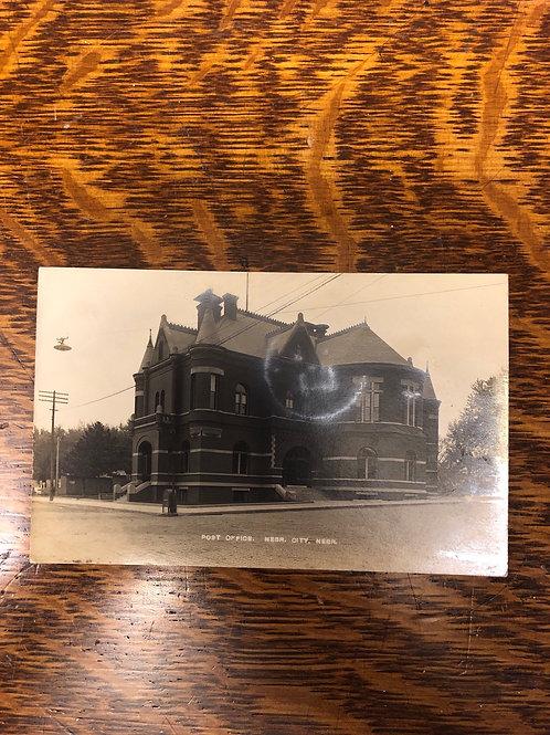Nebraska city , Nebraska Post office