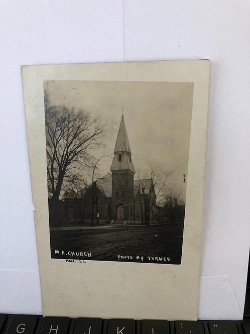 Pana , Illinois - M.E. Church