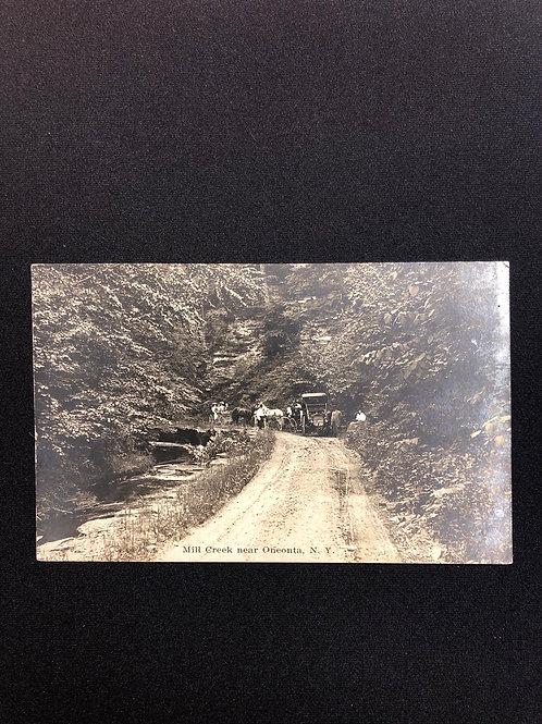 Oneonta, New York - Mill creek 1909