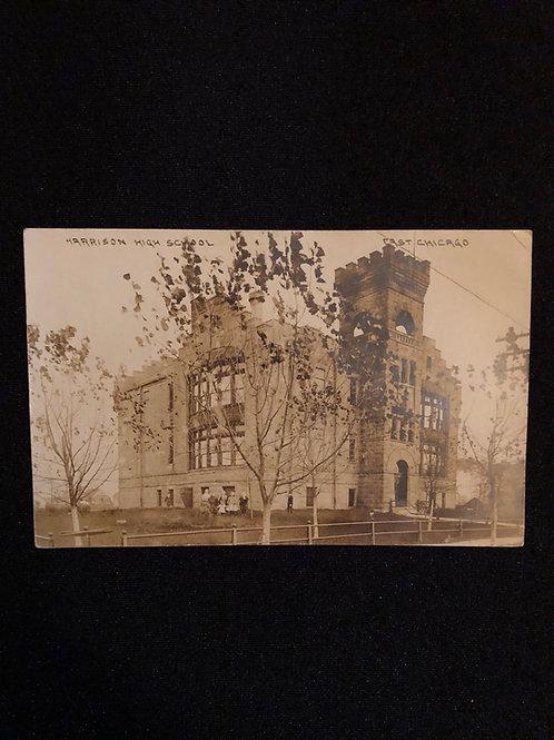 Easy Chicago Illinois - Harrison St. school 1907