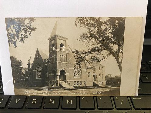 Tuscola, Illinois - M.E. church 1909