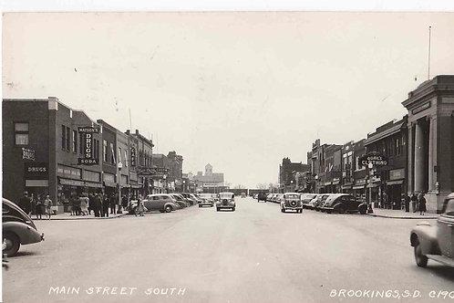 Brookings - Main st. south  1947