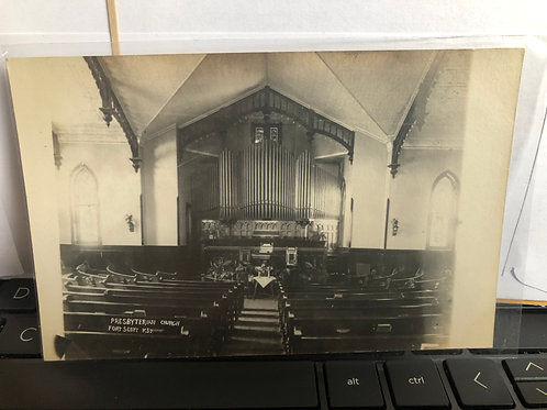 Fort Scott, Kansas - Presbyterian Church Interior
