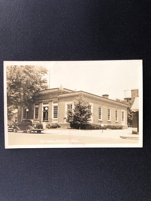 Post office, Plymouth - Michigan