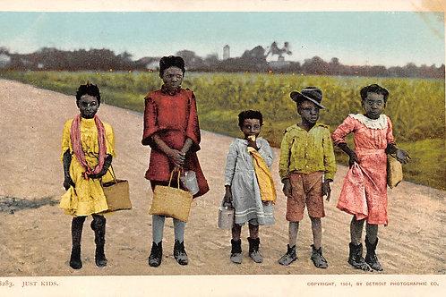 Just kids    Detroit Publishing Co copyright 1904