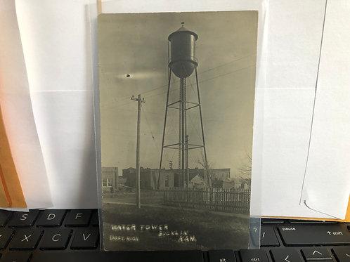 Bucklin, Kansas - Watertower 120 ft tall