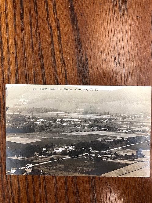 Oneonta, Nebraska - Aerial Views 1910