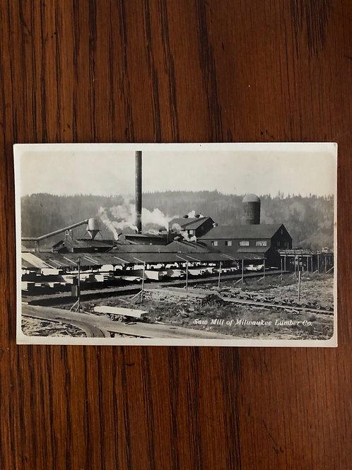 Milwaukee Wisconsin saw mill