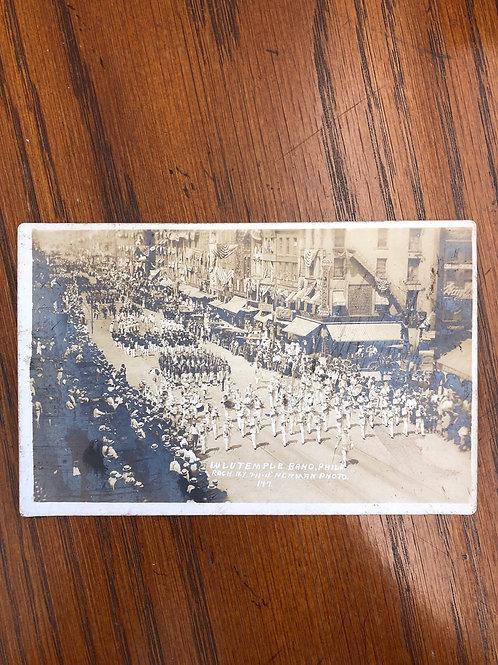Rochester , New York - Lu Lu temple band of Philadelphia dated 1911