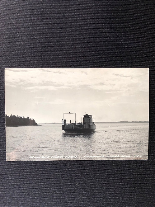 Drummond island ferry - Drummond Island, Michigan