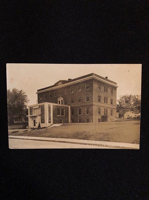 Estherville Iowa - Holy Family Hospital