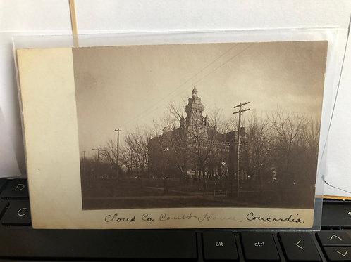 Concordia, Kansas - Cloud County Courthouse