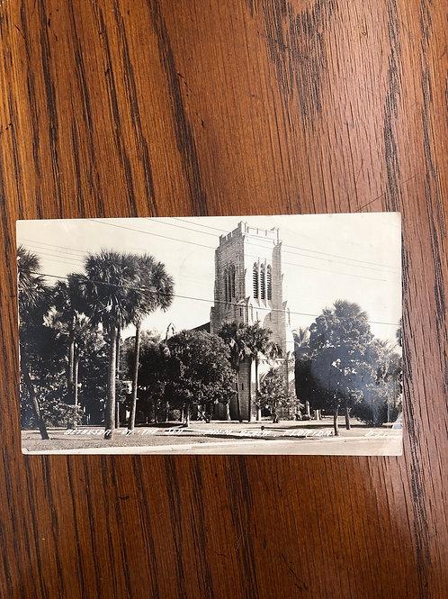 Palm beach , Florida - Bethesda by the sea church 1945