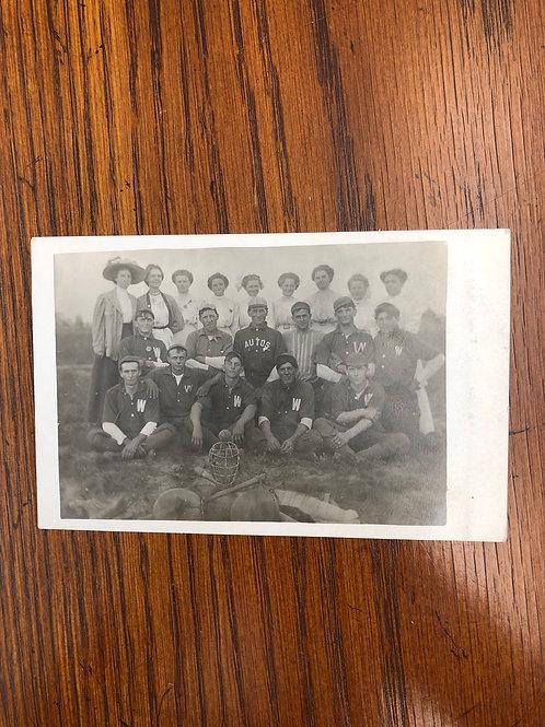 Walton, Kansas - Walton autos baseball team