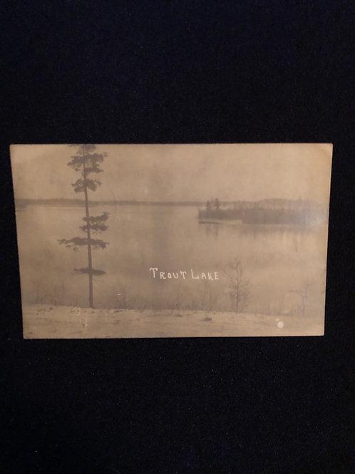 Coleraine, Minnesota - Trout Lake 1908