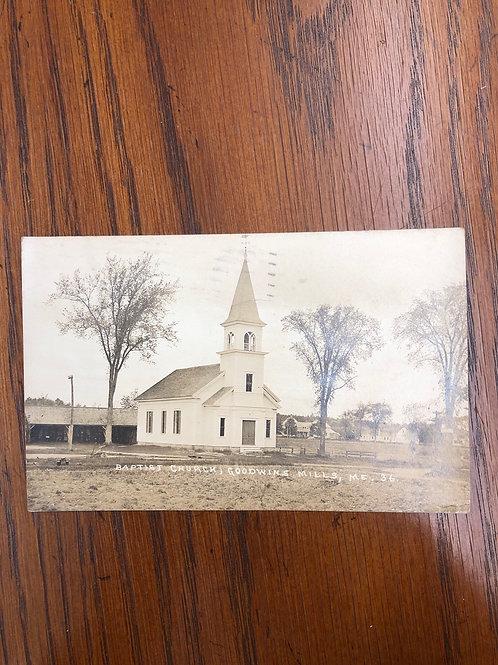 Goodwins mills baptist church 1923