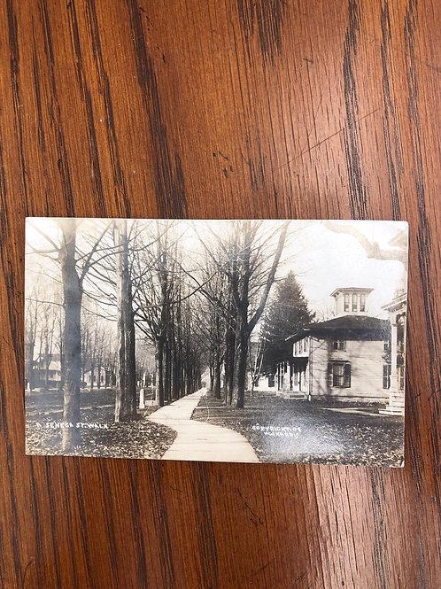 Seneca, New York - walkway 1910
