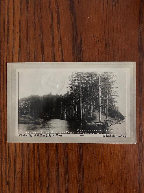 Tomahawk, Wisconsin - Bradley park - prospect point  1911